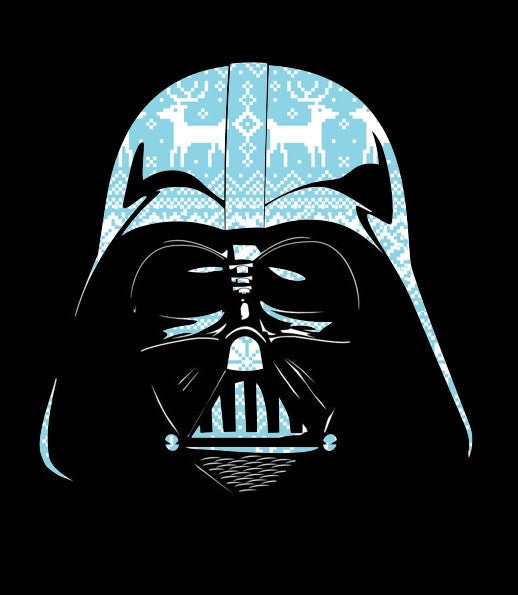Snowy Darth-T-Shirt-Star Wars-Shirt Battle