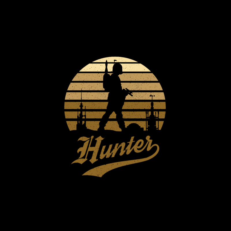 Vintage Hunter Sunset