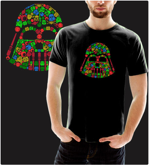Iconic Holiday-T-Shirt-Star Wars-Shirt Battle