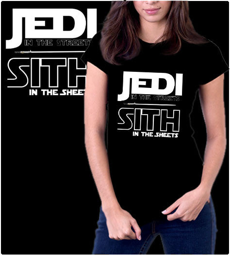 Jedi Sith-T-Shirt-Star Wars-Shirt Battle