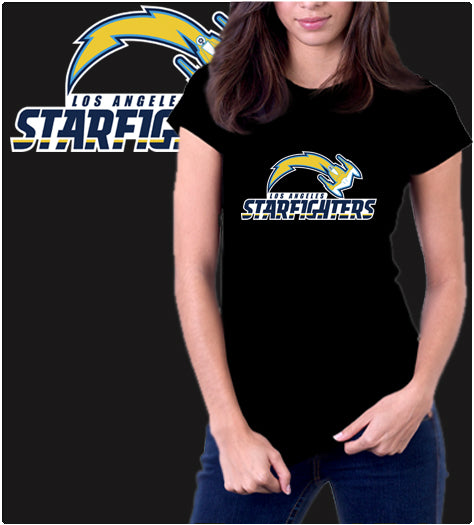 Los Angeles Starfighters-T-Shirt-Star Wars-Shirt Battle
