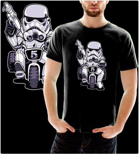 Little Trooper-T-Shirt-Star Wars-Shirt Battle