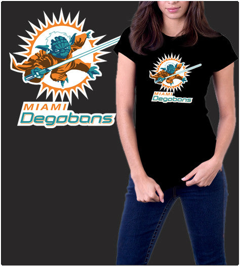 Miami Degobans-T-Shirt-Star Wars-Shirt Battle