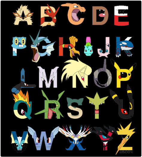 Alphabet Pokebet