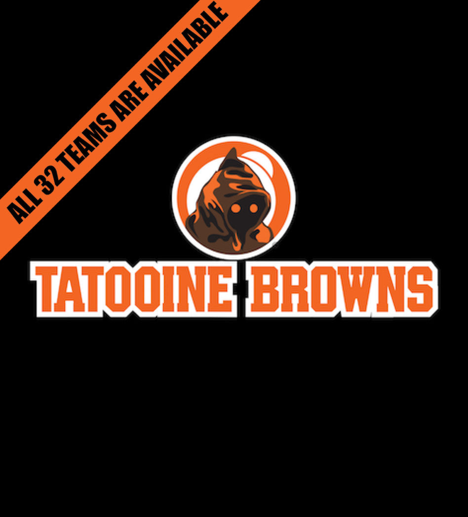 Tatooine Browns-T-Shirt-Star Wars-Shirt Battle