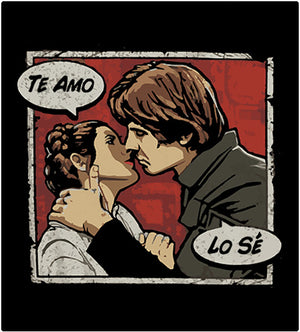Te Amo-T-Shirt-Star Wars-Shirt Battle