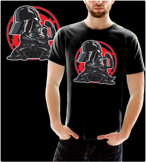 Vader-T-Shirt-Star Wars-Shirt Battle