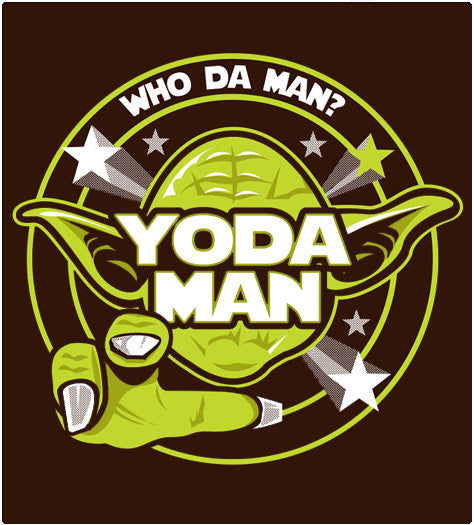 Yoda-Man-T-Shirt-Star Wars-Shirt Battle