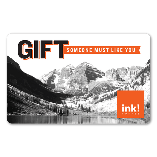 ink! Coffee Gift Card