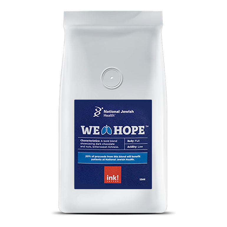 We Breathe Hope // Whole Bean // 12 oz. bag