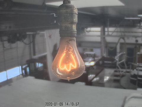 Live feed of the Centennial Bulb