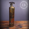 Vintage Industrial Brass Johns Manville Fire Extinguisher