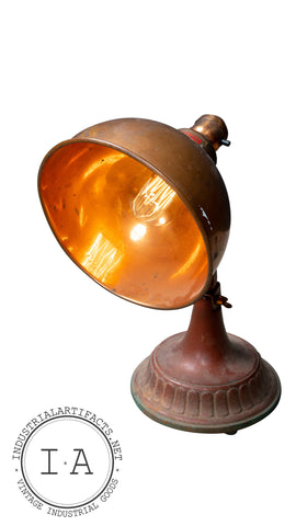 Antique Infralite Desk Lamp