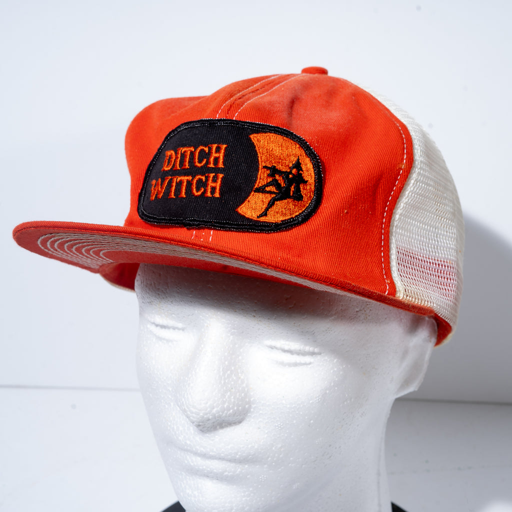 Vintage Ditch Witch Truckers Baseball Cap
