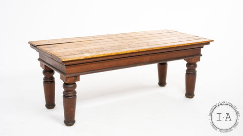 C. 1890 French Mercantile Table