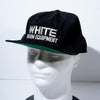 Vintage White Farm Equipment Baseball Cap