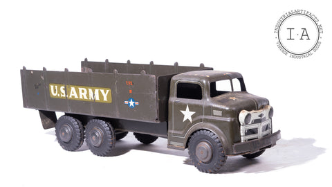 1950s Tin Litho US Army Truck Toy by Marx