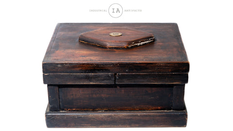 Vintage Wooden Craftmans Box