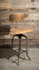 Antique Toledo Uhl Drafting Stool