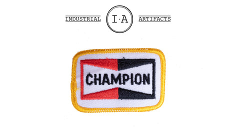 Vintage Iron On Champion Patch