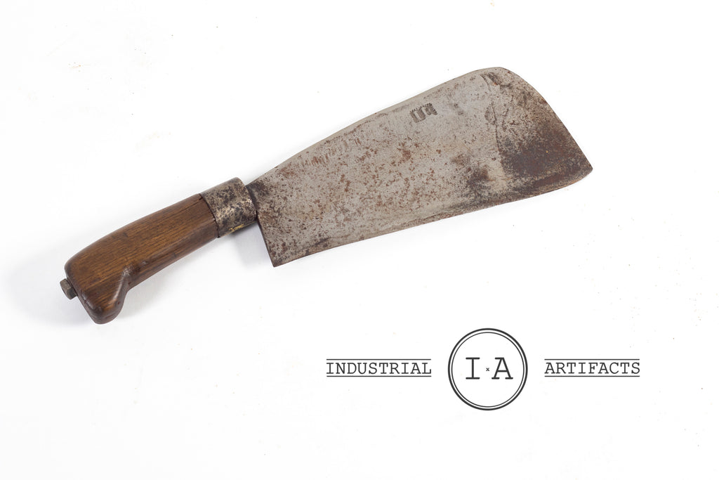 Vintage Butcher's Cleaver