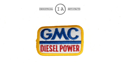 Vintage Iron On GMC Diesel Power Patch