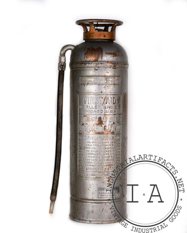 W. D. Allen Fire Extinguisher