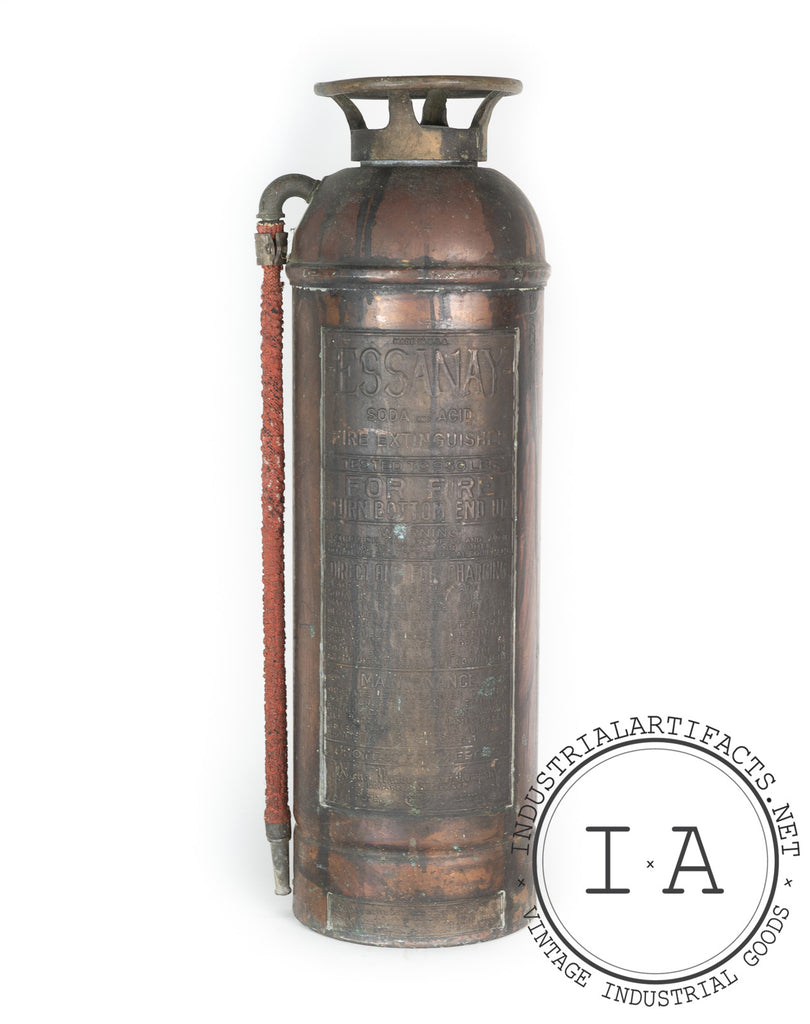 C. 1940 Essanay Soda and Acid Fire Extinguisher