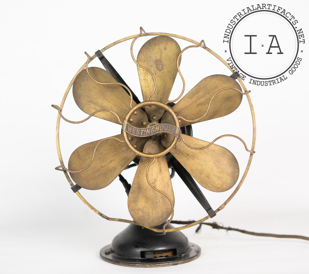C. 1920 Articulating Fan by Westinghouse