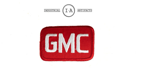 Vintage Iron On GMC Patch