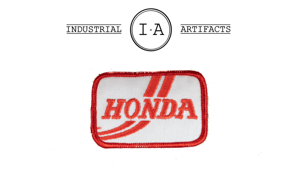 Vintage Iron On Honda Patch