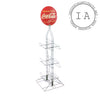 Coca-Cola Sign/6-Pack Display Stand