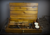 Vintage Industrial Hand Made Mold Making Kit Case Trunk Tool Chest Box One of a Kind