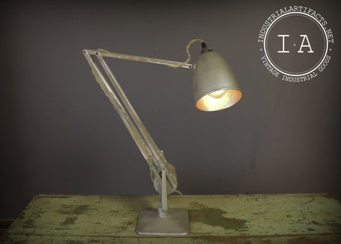 Vintage Mid Century Modern Drafting Articulating Desk Lamp