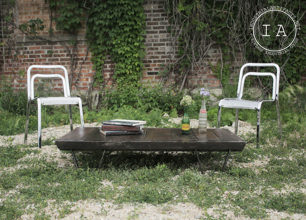Vintage Industrial Coffee Table