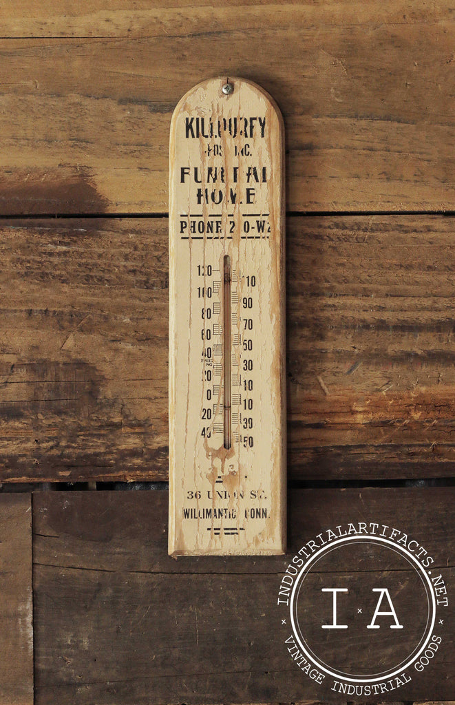 Killourey Funeral Home Thermometer