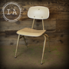 Vintage Industrial Mid Century Modern White Desk Chair Irwin Seating Eames Office