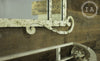 Wrought Iron Mirror and Base