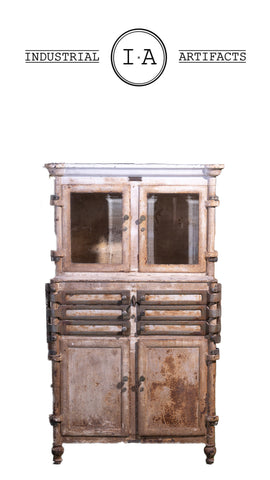 C. 1920 Lee Smith And Son Dental Cabinet