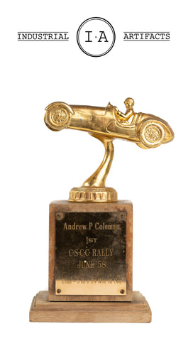 1958 First Place CSCC Rally Trophy