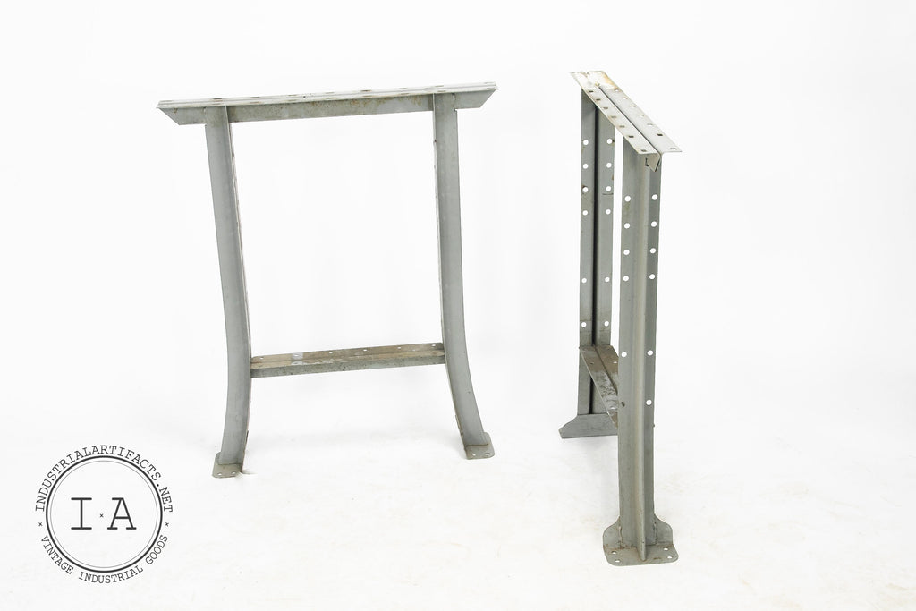 Pressed Steel Machine Shop Bench Legs