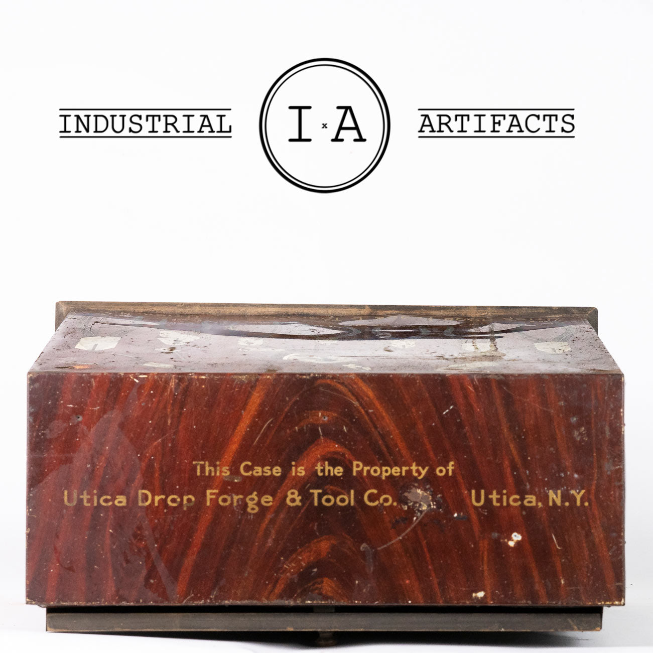C. 1920 Utica Drop Forge & Tool Co. Case