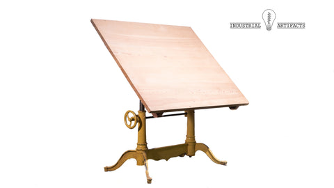 Turn Of The Century Drafting Table by Dietzgen