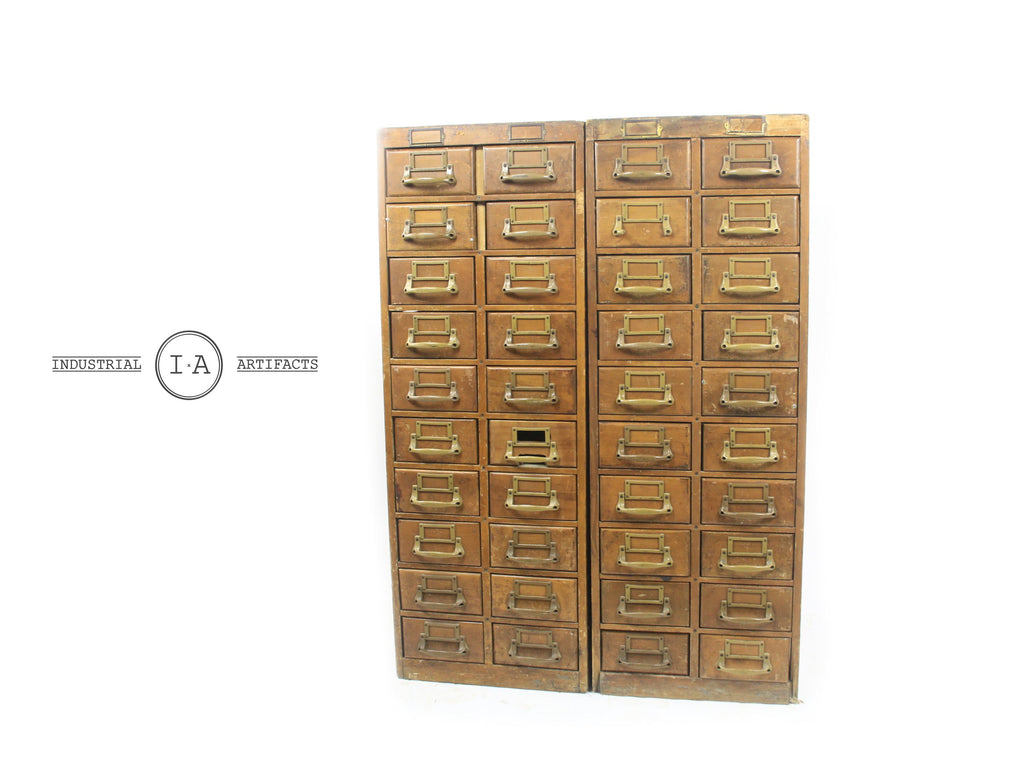 Antique Yawman & Erbe Card Catalogue