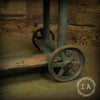 Vintage Industrial Cast Iron Adjustable Die Cart