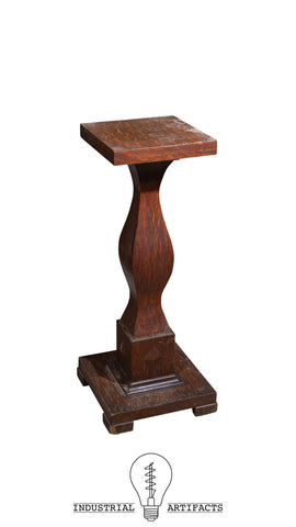 Antique Quarter Sawn Mission Arts And Crafts Stand