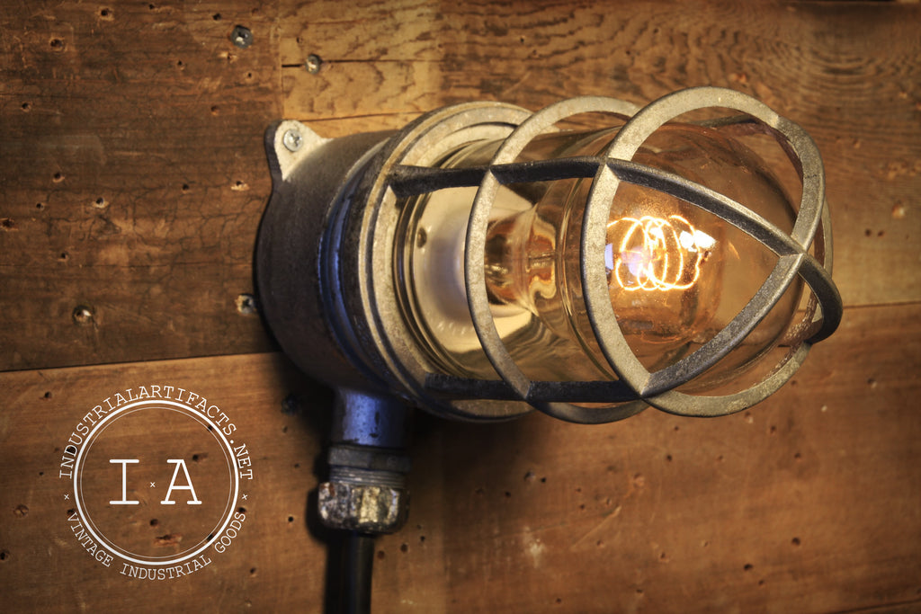 Vintage Explosion Proof Lamp