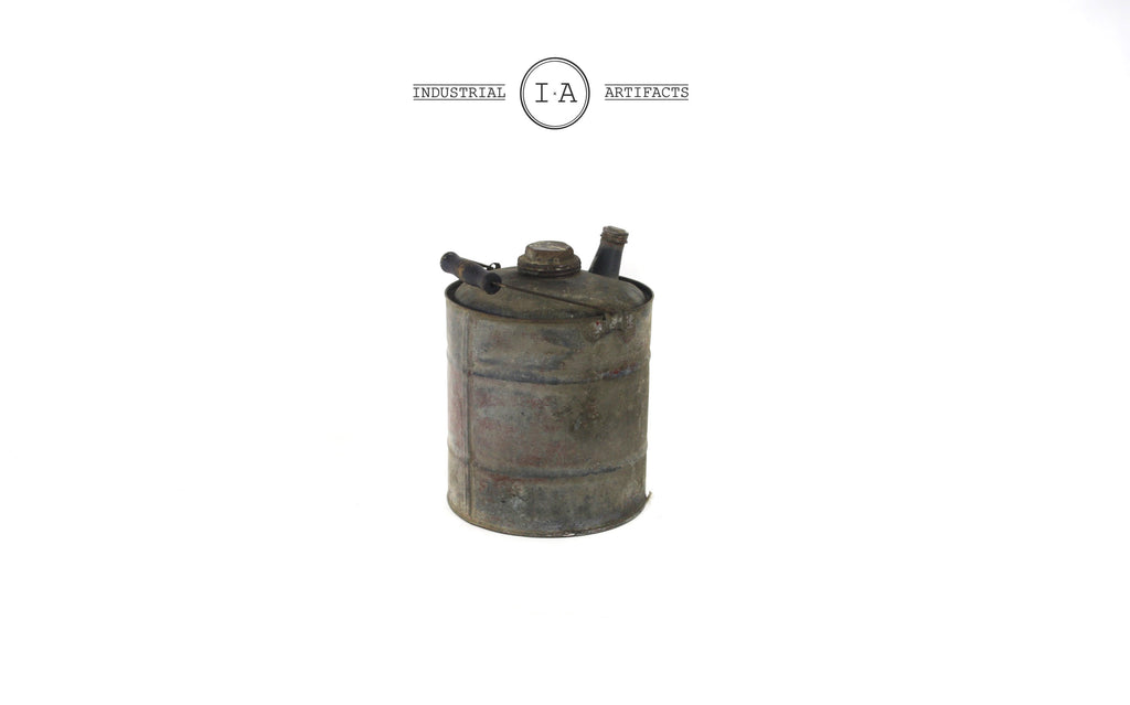 Antique Kerosene Farmhouse Canister