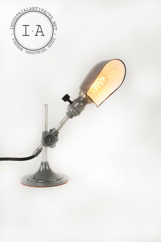 OC White Articulating Desk Lamp