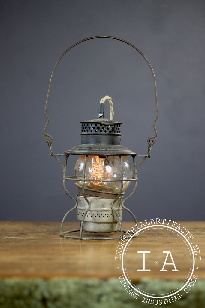 Antique Adams and Westlake Railroad Lantern